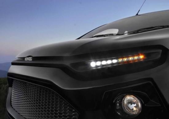 Ford EcoSport фары со светодиодными ходовыми огнями
