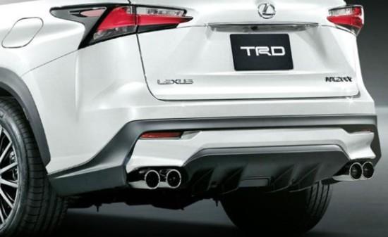 Lexus NX выхлопная система
