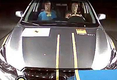 Краш-тест Subaru XV