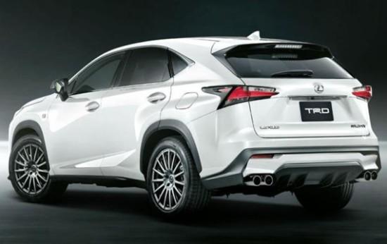 Lexus NX фото сбоку