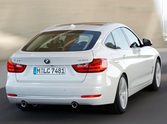 BMW 3-Series Gran Turismo фото сзади