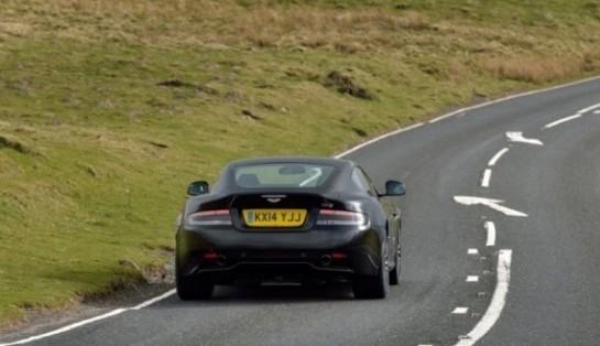Aston Martin DB9 фото сзади