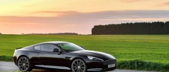 Aston Martin DB9 фото сбоку