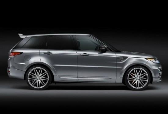 Range Rover Sport 2 фото сбоку