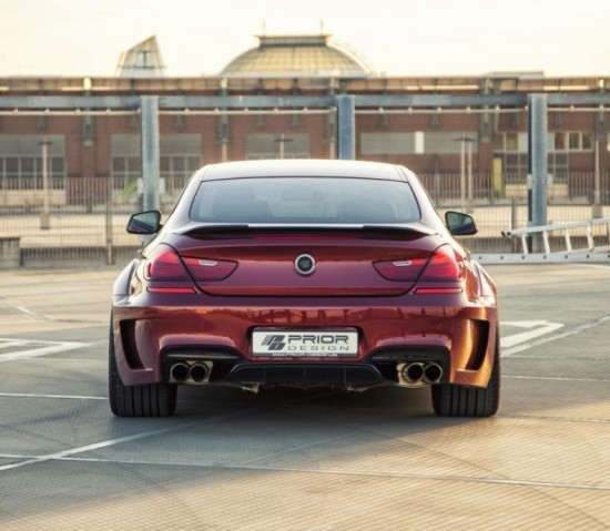 BMW 6-Series фото сзади