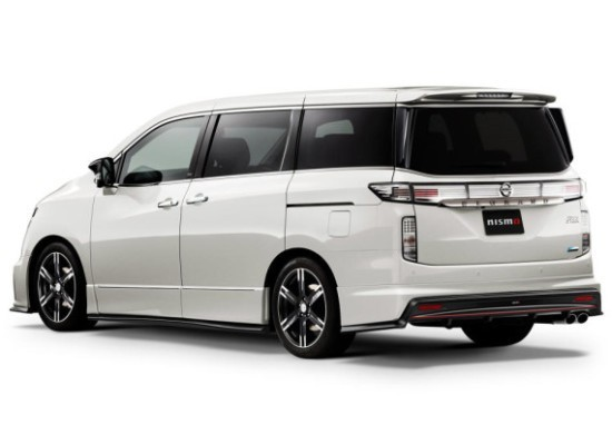 Nissan Elgrand Новый обвес