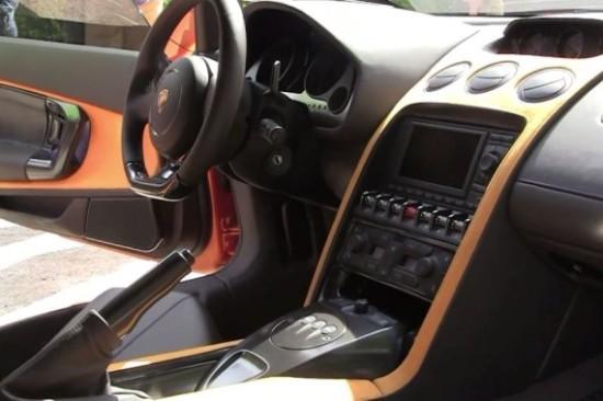 Интерьер нового купе выполнен в стиле Gallardo