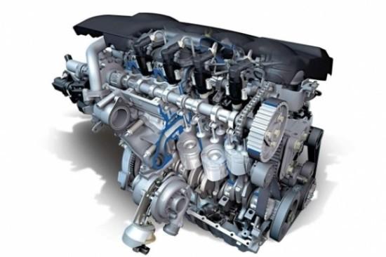 Бензиновый двигатель (ДВС)