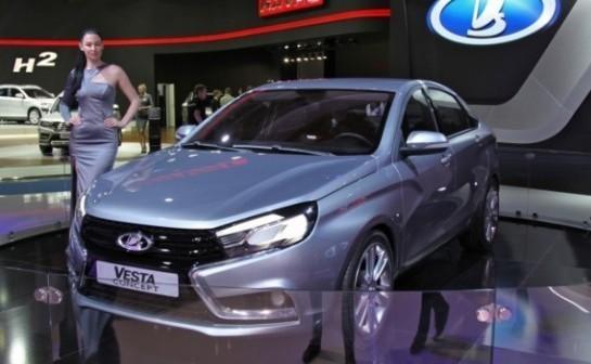 Новая Lada Vesta