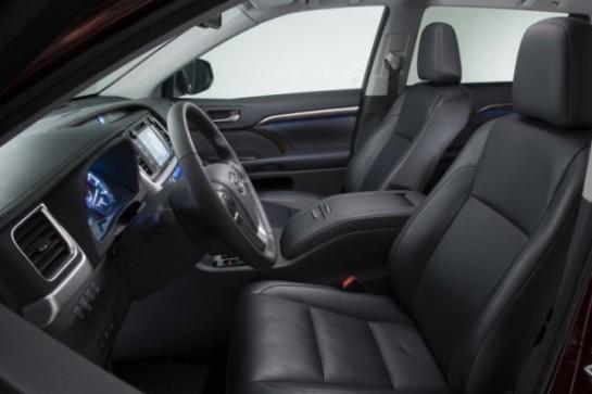 Toyota Highlander 3 фото салона