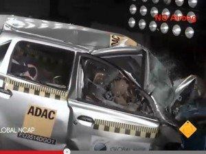Datsun Go краш-тест