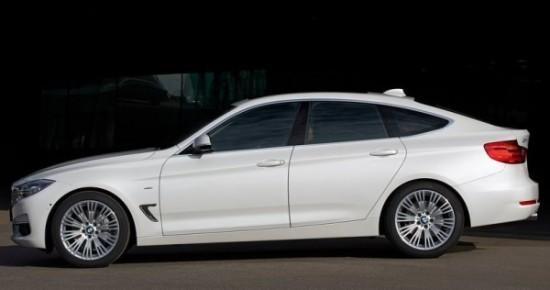 BMW 3-Series Gran Turismo фото сбоку