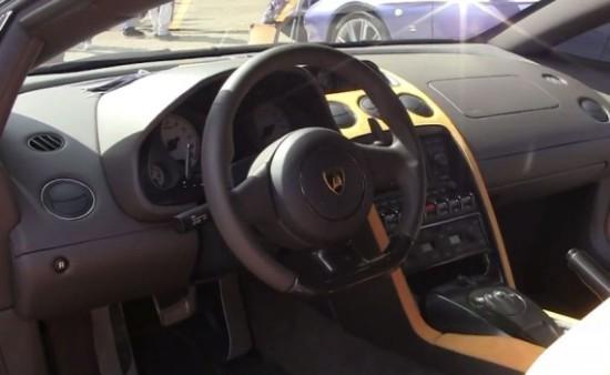 Lamborghini 5-95 Zagato фото салона