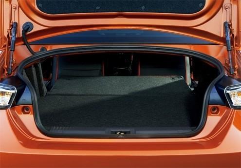 Toyota GT 86 багажник