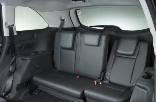Задние кресла Toyota Highlander 3