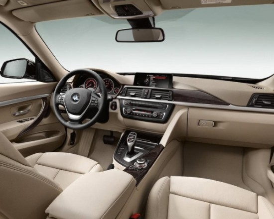 BMW 3-Series Gran Turismo фото салона