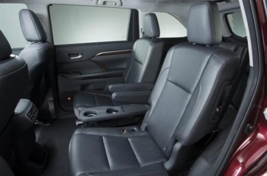 Toyota Highlander 3 Сиденья