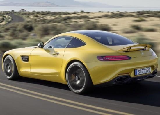 Спорткар Mercedes-AMG GT