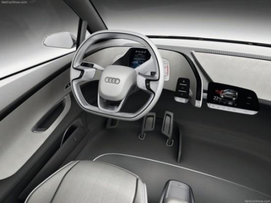 Audi A2 фото салона