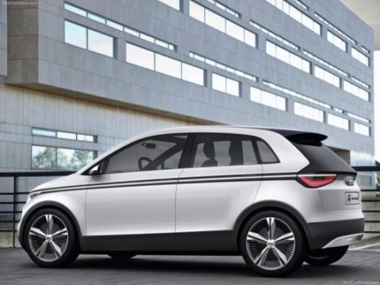 Audi A2 фото сбоку