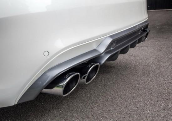 Mercedes C-Class AMG Sport выхлопная система