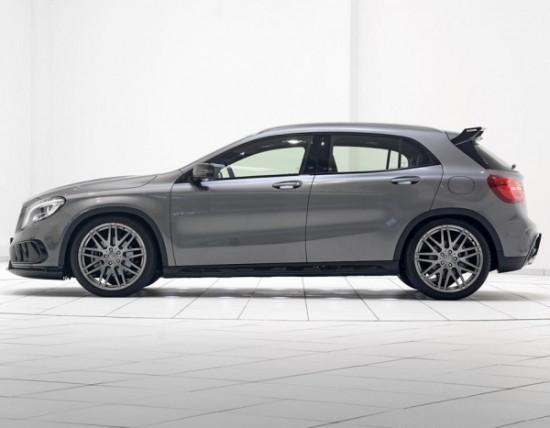 Mercedes GLA фото сбоку