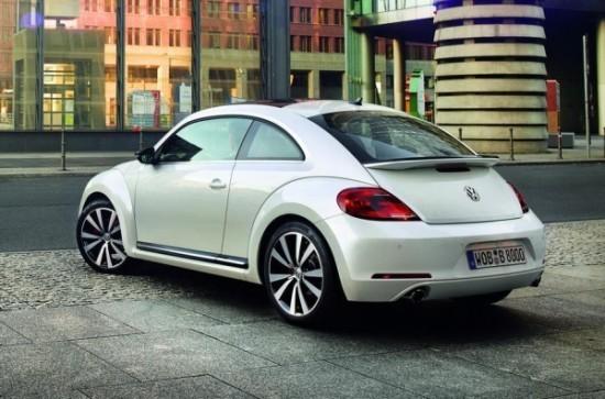 Volkswagen Beetle фото сзади