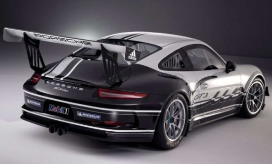 Porsche 911 GT3 Cup фото сзади