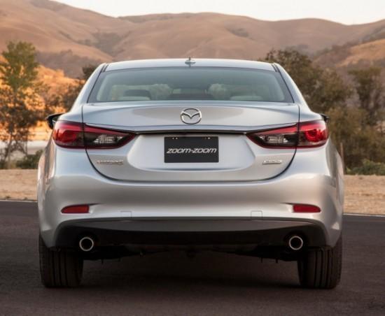 Mazda 6 фото сзади