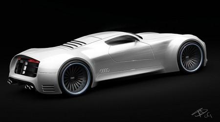 суперкар Audi R10 V10