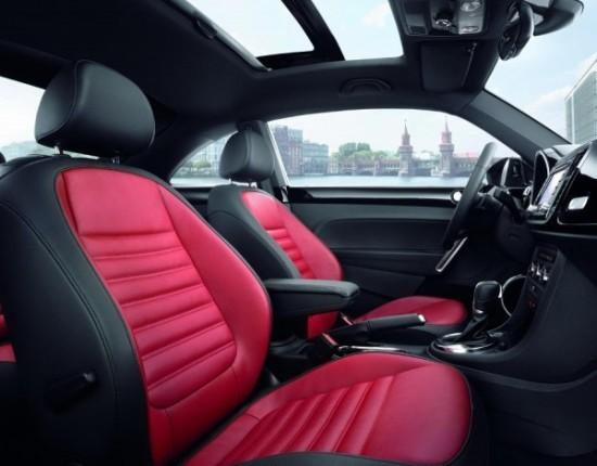 Volkswagen Beetle Интерьер