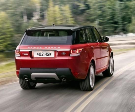 Land Rover Range Rover Sport фото сзади