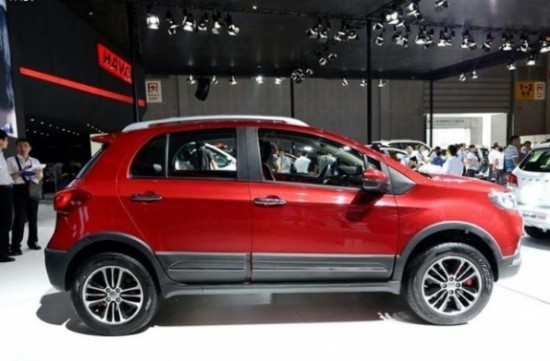 Great Wall Haval H1 фото сбоку