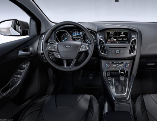Ford Focus 2015 фото салона