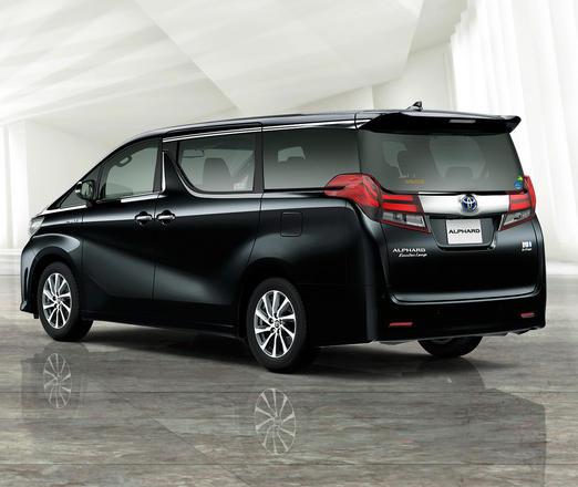 рестайлинговый Toyota Alphard