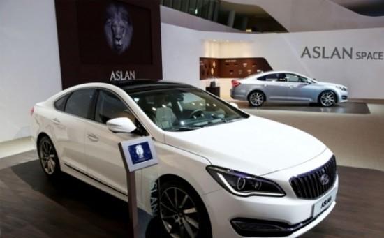 Седан Hyundai Aslan