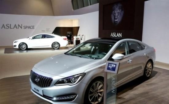 Hyundai Aslan фото сбоку