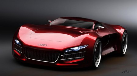 Audi R10 V10