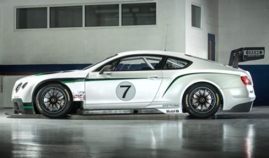 Bentley Continental GT3 Racecar фото сбоку