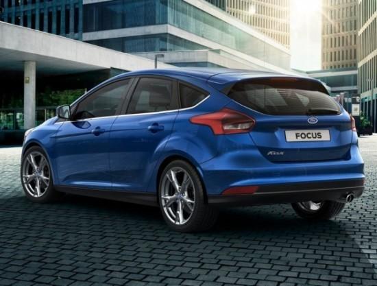 Ford Focus 2015 фото сзади