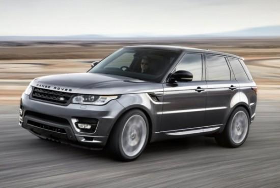 Land Rover Range Rover Sport фото сбоку