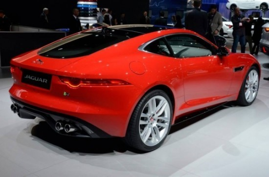 Купе Jaguar F-Type