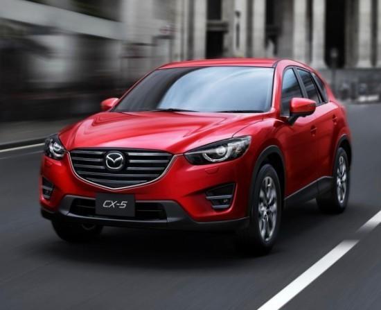 Mazda CX-5 рестайлинг