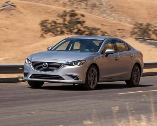 Mazda 6 фото сбоку