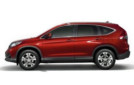 Новая Honda CR-V фото сбоку