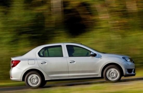 Renault Logan фото в профиль