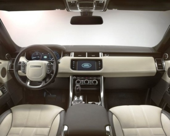 Land Rover Range Rover Sport Салон