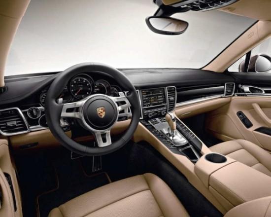 Porsche Panamera Platinum Edition фото салона