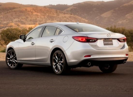 Mazda 6 фото слева