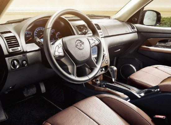 SsangYong Rexton фото салона